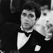 On the set of 'Scarface'
