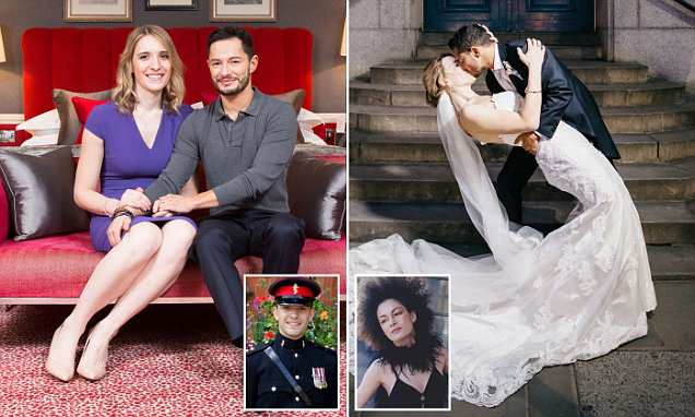 'We're just like any couple in love': Trans newlyweds give the first interview about their