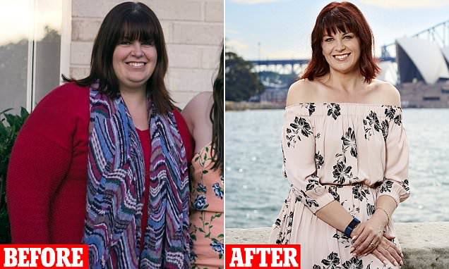 Kim Wearden who weighed a staggering 121kg sheds SEVEN dress sizes
