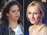 Harry Potter author JK Rowling tweeted her support for Samantha Fuentes, a Parkland survivor who threw up on stage at the March For Our Lives in Washington DC while delivering a tribute to her slain friend