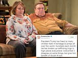TV star Roseanne Barr posted an unusual Twitter message on Friday night