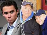 David Hogg, 17, (pictured, in Parkland on March 23) who has become a leading gun-reform advocate since the high school shooting in which 17 people died
