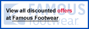 Famous Footwear coupon