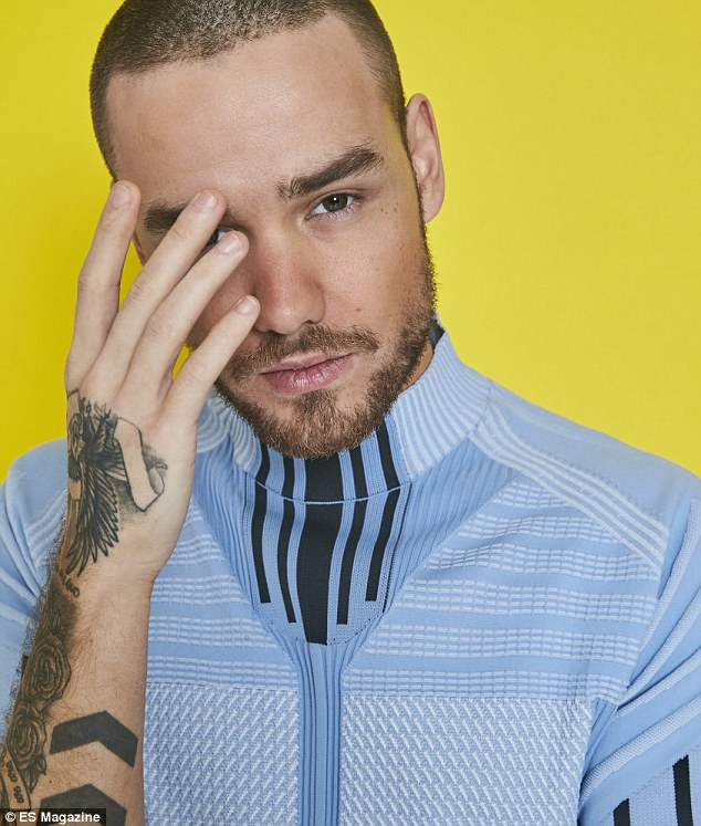 Cover star: Liam's candid chat with the magazine finally confirms all of the reports