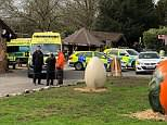 West Mercia Police confirmed the child died after falling ill at West Midlands Safari Park in Bewdley, Worcestershire this morning