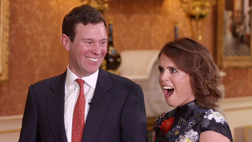 The royal bride-to-be admitted she was surprised to receive Jack's proposal after seven years of dating