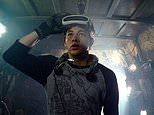"""This image released by Warner Bros. Pictures shows Tye Sheridan in a scene from """"Ready Player One,"""" a film by Steven Spielberg. (Warner Bros. Pictures via AP)"""