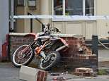 Father-of-one Adam Egan, 24, suffered critical injuries when his bike ploughed into a wall in Fazakerley, Liverpool, on Tuesday