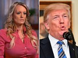 President Donald Trump has reportedly privately told several people that Stormy Daniels (pictured, on '60 Minutes' on Sunday) is not the type of woman he finds attractive