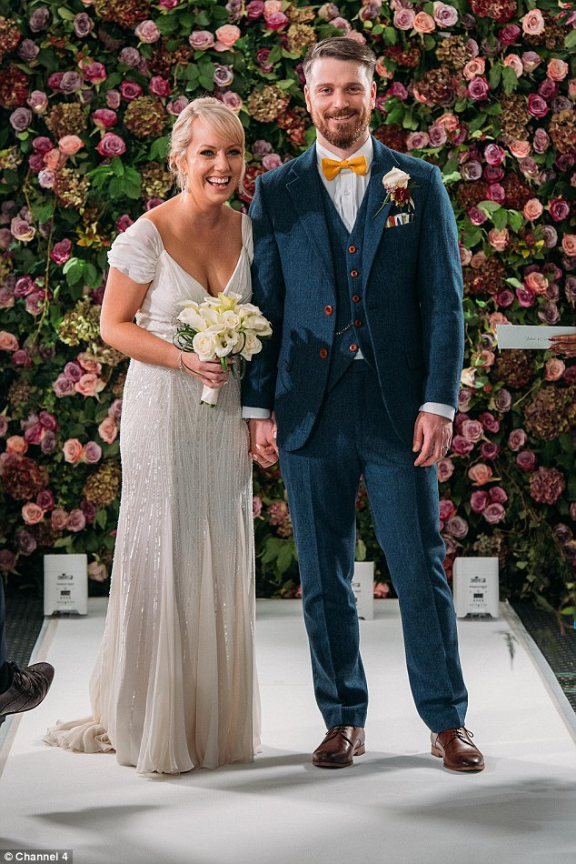 Harriet, 32, and Richard, 28, got married after meeting for the first time at the altar in Channel 4's Married at First Sight