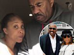 Steve Harvey has come to the defense of his wife after social media users reacted angrily to her use of the word ¿retarded¿