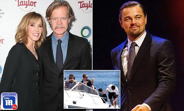 Felicity Huffman defends fellow environmentalist Leonardo DiCaprio