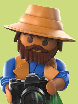 The filmmakers must be hoping Daniel can bring his magic touch to the plastic characters of Playmobil