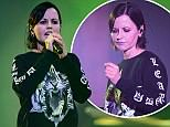Mandatory Credit: Photo by James Shaw/REX/Shutterstock (8826071f) Dolores O'Riordan The Cranberries in concert at The London Palladium, London, UK - 20 May 2017
