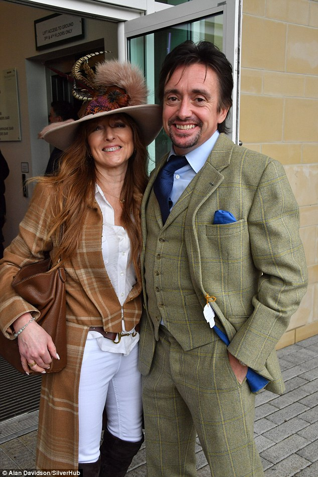 Explained: Jeremy was joined by his former co-star Richard Hammond and his wife Mindy after it was announced their show The Grand Tour was not offered fourth series