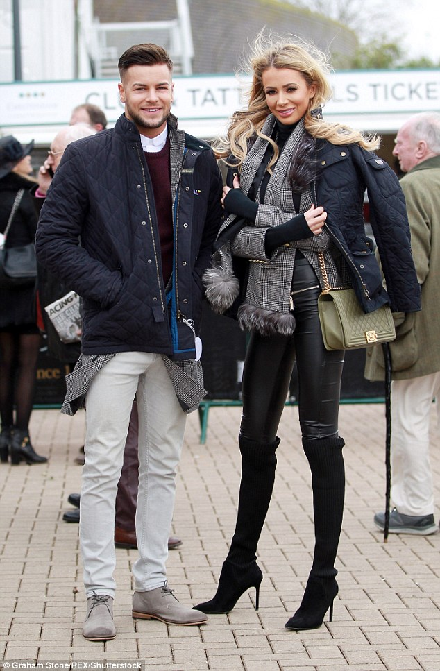 Friendly?The pair were pictured together for the first time since their split at the Cheltenham Festival with them both posting snaps enjoying each other's company on Instagram.