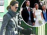 April 05, 2018: April 05, 2018  Pippa Middleton seen out and about in London  Non Exclusive Worldwide Rights Pictures by : Flynet Pictures © 2018 Tel : +44 (0)20 3551 5049 Email : info@flynetpictures.co.uk