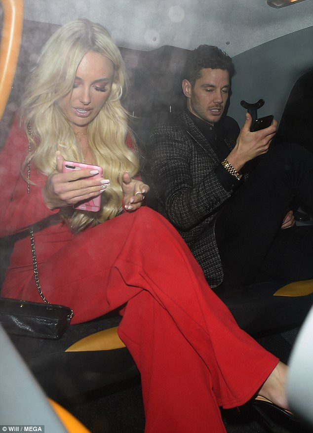 Moving on:Meanwhile, in June last year a fiery bust-up with Kady left fans in shock when Scott was arrested on suspicion of assault