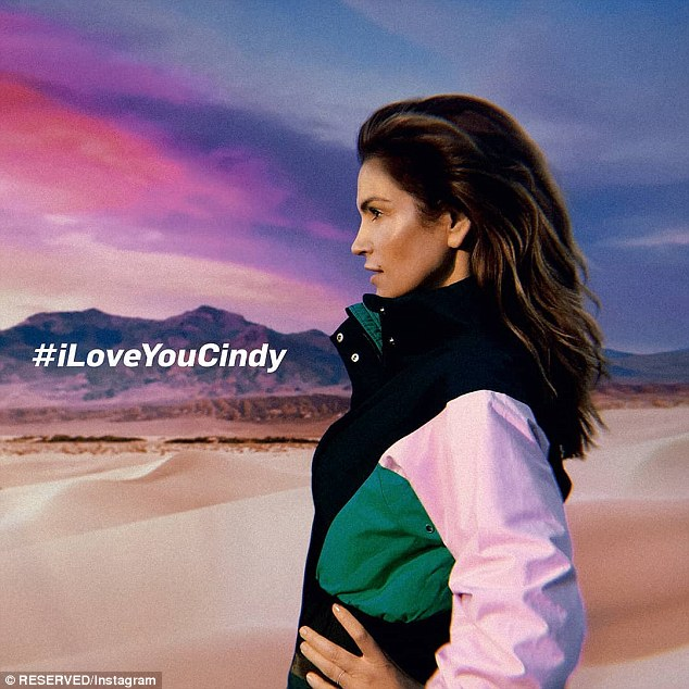 Wow! Cindy recently looked as youthful as ever as she starred in the I LOVE YOU CINDY campaign film - shot by Gordon von Steiner - for the Polish high-street brand