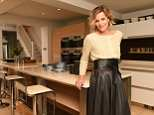 Linda Barker, pictured, is selling her London home where she has lived since 1999 for £1.35m