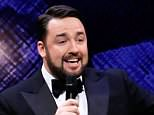 The stand up comic Jason Manford (pictured) found himself caught up in a violent clash between Manchester United and City fans