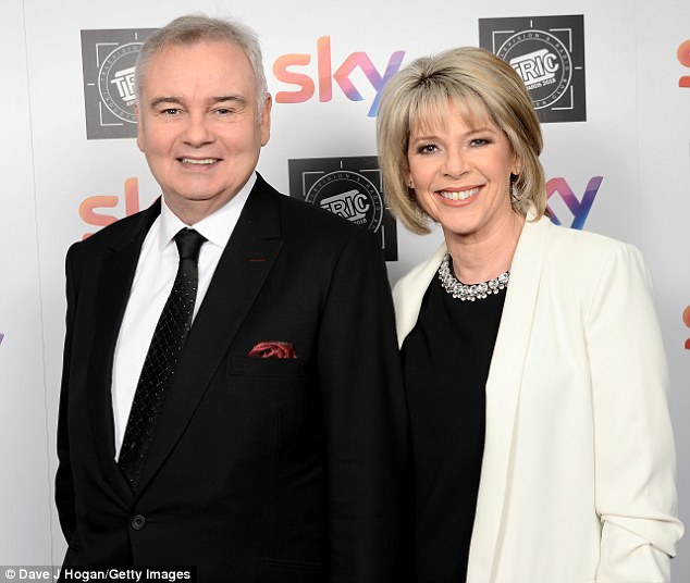 Eamonn Holmes has claimed that political correctness is making television more 'vanilla', as presenters just follow the autocue