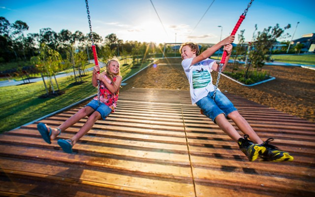 Lend Lease Yarrabilba_Playground Flying Fox