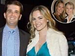 Vanessa Trump reportedly filed for divorce from her estranged husband Donald Trump Jr shortly after her family's multi-million dollar windfall from her late father's investments