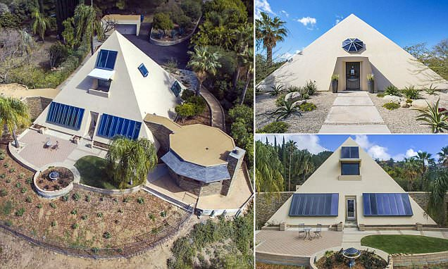 California home shaped like a pyramid on the market for $3.1million