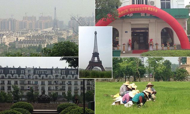 Inside the extraordinary deserted replica of Paris in China