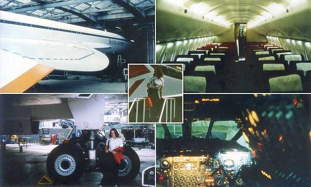 'I snuck onto Concorde after its 1976 maiden voyage'