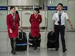 Cathay Pacific's female  flight attendants have won the right to wear trousers