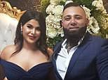 The Mehajer-Tajjour marriage, which lasted three months, took place just two days after the couple were engageed (Sanaa and Moudi pictured centre)