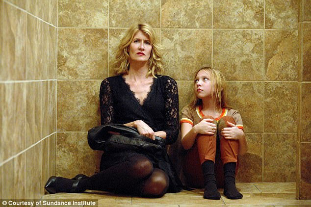 Laura Dern, 50, and IsabelleNélisse, 14, star in The Tale as Jennifer Fox (respectively as an adult and as a child)