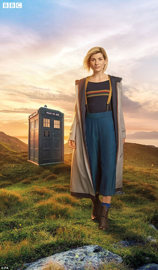 Dream come true: Jodie was announced as the first female Doctor Who in July last year, and later deemed it the 'dream part'