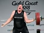 Controversial transgender weightlifter Laurel Hubbard has withdrawn from the Commonwealth Games with a gruesome elbow injury