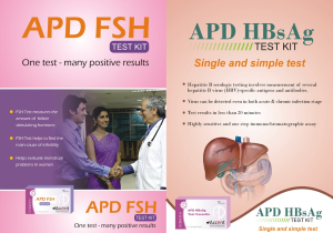 APD FSH TEST KIT & APD HBsAG TEST KIT