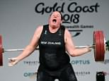 Controversial transgender weightlifter Laurel Hubbard (pictured) has confirmed a gruesome elbow injury that forced her to withdraw from the Gold Coast's Commonwealth Games has ended her career
