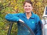 Vanessa McAloon, pictured, was killed by her husband after she fell off her motorbike while trying to avoid an oncoming car on the wrong side of the road