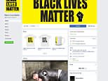 Australian National Union of Workers vice president Ian Mackay resigned from his role on Tuesday morning after he was accused of running a fake Facebook page titled Black Lives Matter (pictured)