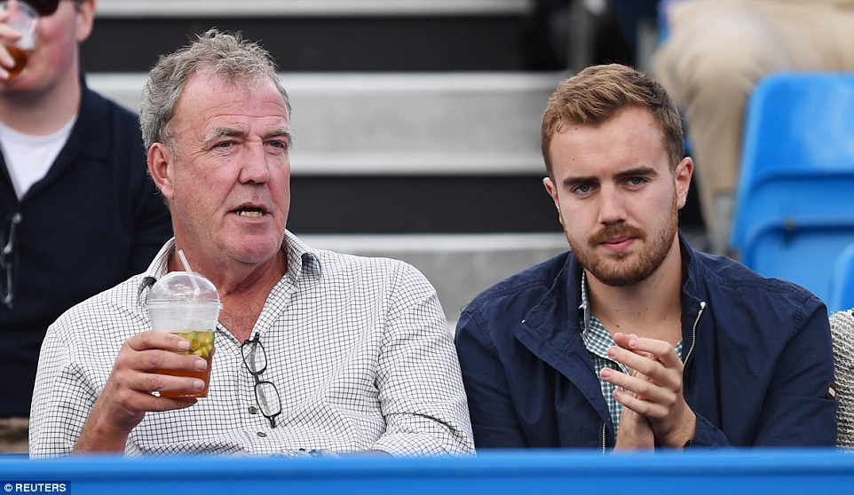 Famous family: He is the only son of former Top Gear host Jeremy Clarkson and Frances