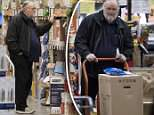 Thomas Markle does some shopping at Home Depot store near his home in Rosarito, Mexico