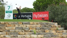 Scott Jamieson - on his way to a second round 64 at the Portugal Masters
