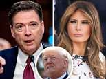 Bombshell: James Comey's book reveals how Trump used a private dinner to ask him to prove the notorious 'golden showers' dossier was a lie - to please Melania