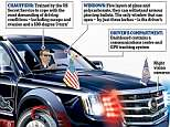 The armored $1.5 million Cadillac - which comes complete with eight-inch thick doors, a bomb-proof exterior, and an oxygen supply in case of a chemical attack - has been handed over to the Secret Service for final tests