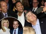 Fox News host and Trump supporter Sean Hannity (right) was seen posing for a photo with Stormy Daniels' lawyer MichaelAvenatti (second from left) Thursday night at The Hollywood Reporter's Most Powerful People in Media event. Also pictured is Gayle King (left) and Don Lemon (second from right)