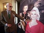 Frederic Prinz von Anhalt (left), the husband of the late Hungarian-American actress Zsa Zsa Gabor, talks about her favorite picture at the 'Hello Dal-ling: The Estate of Zsa Zsa Gabor' auction by Heritage Auctions at the actress' residence in Bel Air, California, USA, 12 April 2018. The live auction will take place 14 April 2018
