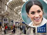 Meghan Markle landed in Chicago's O'Hare International Airport on Thursday morning to finalize her UK visa application