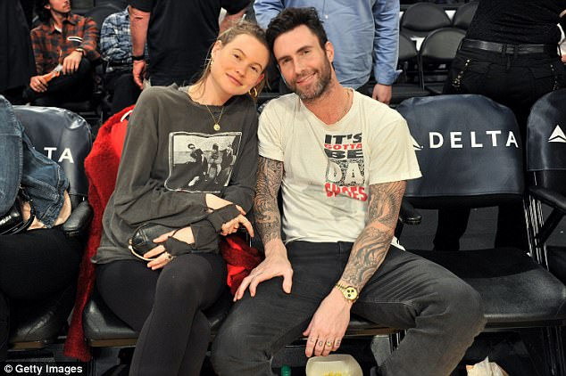 Parents: She and husband Adam Levine, 38, confirmed the good news on Friday to E! News