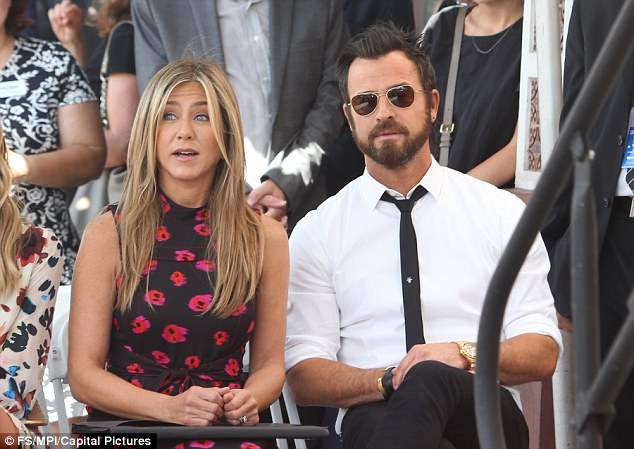They worked hard to make it work: Jennifer Aniston and Justin Theroux 'tried therapy' to make their marriage work, according to People; this is their last public appearance in July